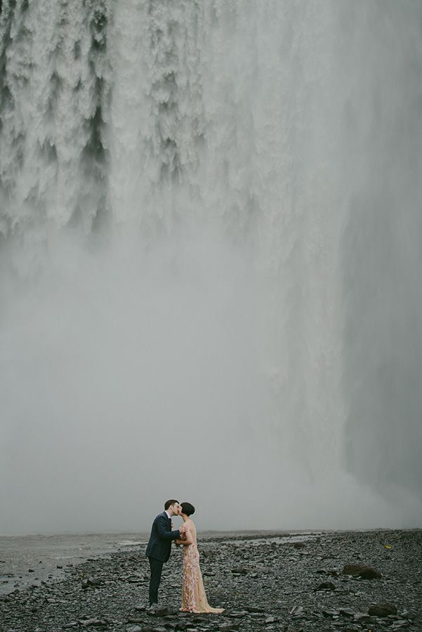 An Iceland Wedding of Sheer Wild Beauty