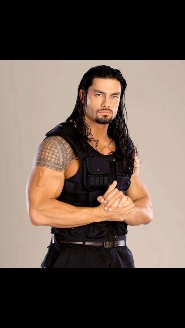 Roman Reigns. WWE Wrestler  might be a bad guy, but damn he's a good one!!