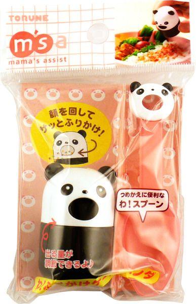 Torune Mamas Assist Panda Furikake Case & Spoon 15g