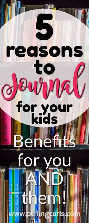 Taking the time to journal for your kids has so many benefits, many of which you won't realize until years later. Newborn / baby / toddler / teen / preschooler / mom / parenting
