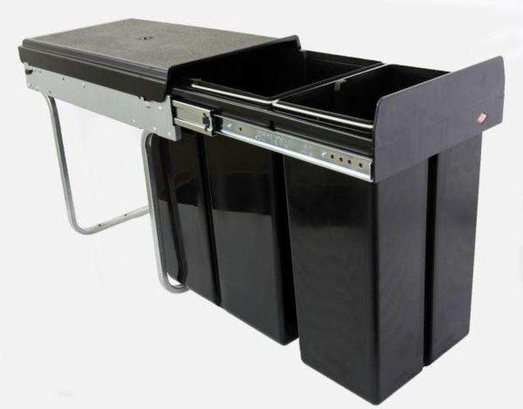 Double-Boy smart 30DTInhalt: 30 Liter (20 + 10)Material: Rohrbügel + Seitenteile: verzinktDeckel + Einsätze: KunststoffFarbe: anthrazit