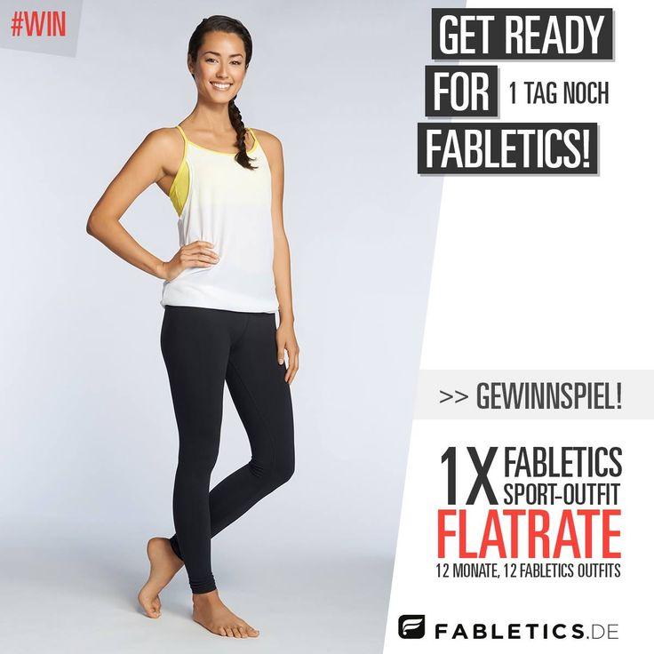Gewinne eine Outfit-Flatrate: 12 Monate jeden Monat ein komplettes Fabletics-Workout-Outfit gratis! Zum Mitmachen auf Instagram, Facebook oder Twitter einen Kommentar mit eurem Anfeuerungsspruch an uns für einen erfolgreichen Launch in Deutschland! Wir sind gespannt und freuen uns auf eure Motivations-Posts!