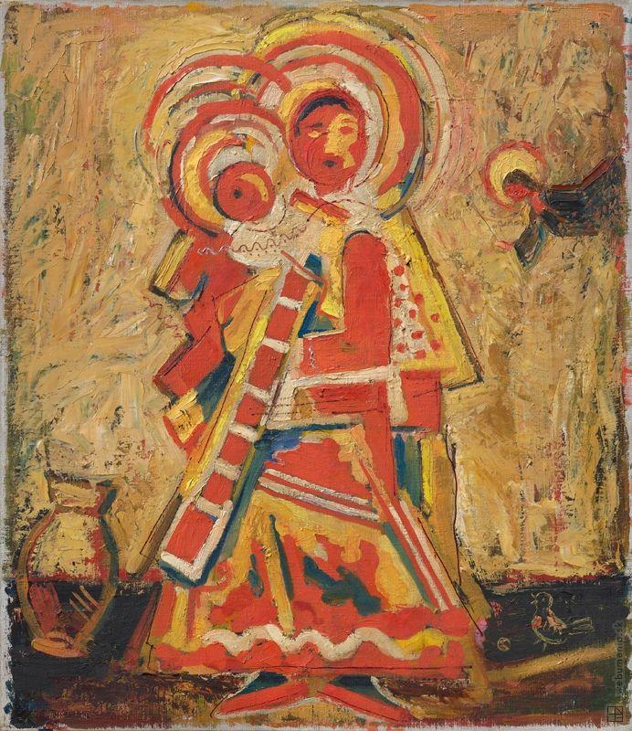 Ľudovít Fulla: Madona s anjelom:1929