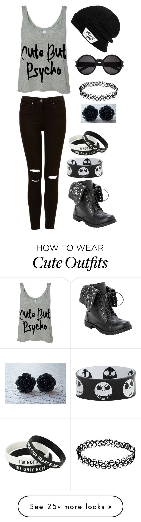 """""""Just Stawp... Be Ü"""" by zoe2 on Polyvore featuring Vans and Yves Saint Laurent"""