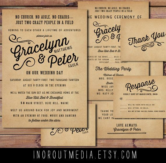 the 25+ best casual wedding invitations ideas on pinterest, Wedding invitations