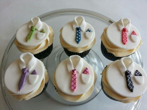 Cupcake Design For Man : Mens shirt and tie cupcakes **Cakes by me ...