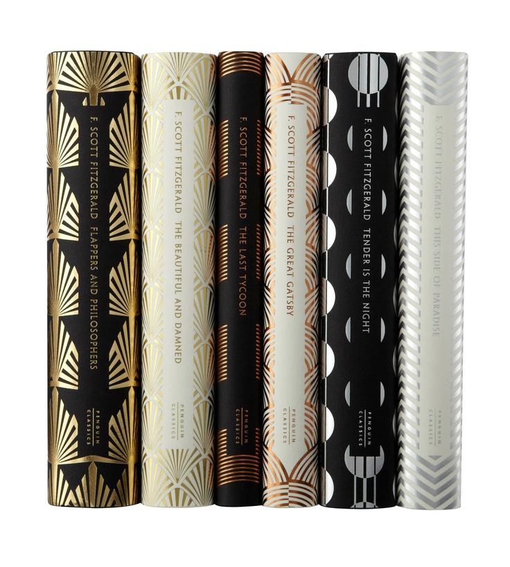 Penguin UK Classic range of F. Scott Fitzgerald