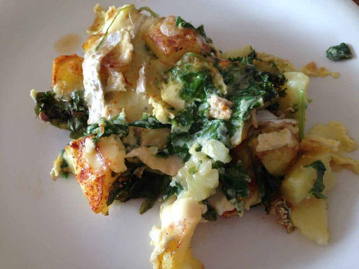 Raapstelenschotel uit de Streekbox. Een fijn recept van een vergeten groente die wij zeker vaker zullen eten  Recept www.lekkeretenmetlinda.nl
