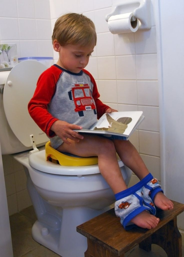 How to potty train boys quickly and easily.