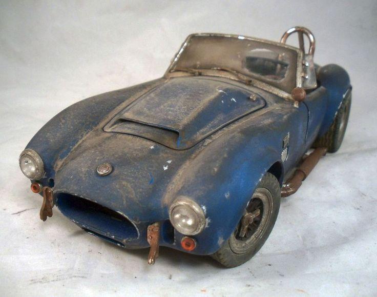 1966 Shelby Cobra Super Snake Barn Find Custom Weathered 1/18 Unrestored Diecast | Weathered