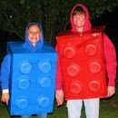Step 0: LEGO Halloween Costume(using recycled materials)