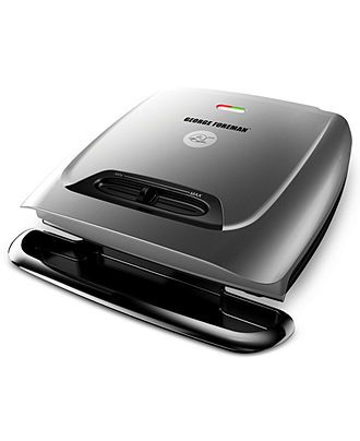 George Foreman Grill, 8 Serving Classic Plates - Electrics - Kitchen - Macy's