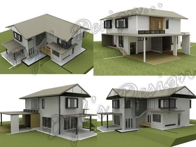 29 best double storey house images on pinterest home ideas dyl architecture and design project proposed double storey detached house 2009 malvernweather Image collections