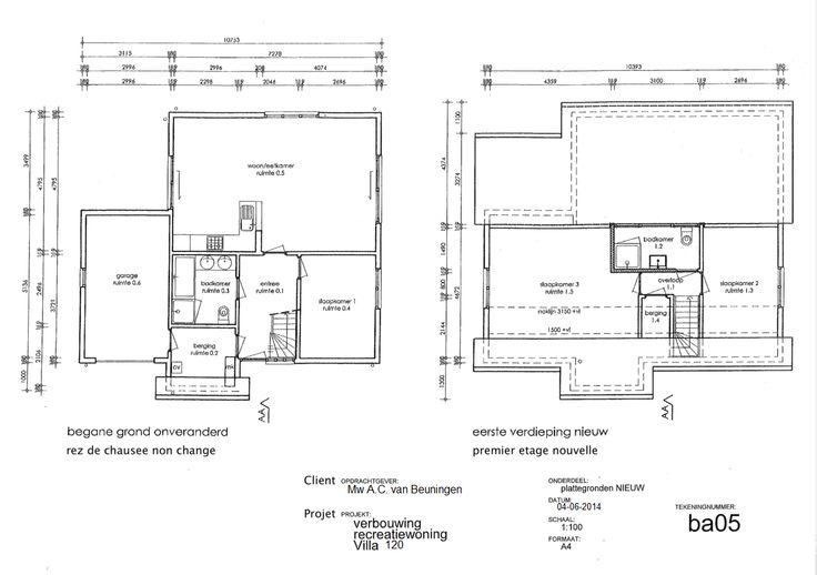 Uitbreiding tweede badkamer. In september bij villa 120 :)