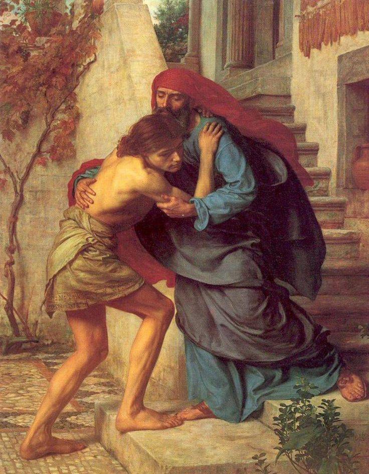 .:. The Return of the Prodigal Son .Sir Edward John Poynter