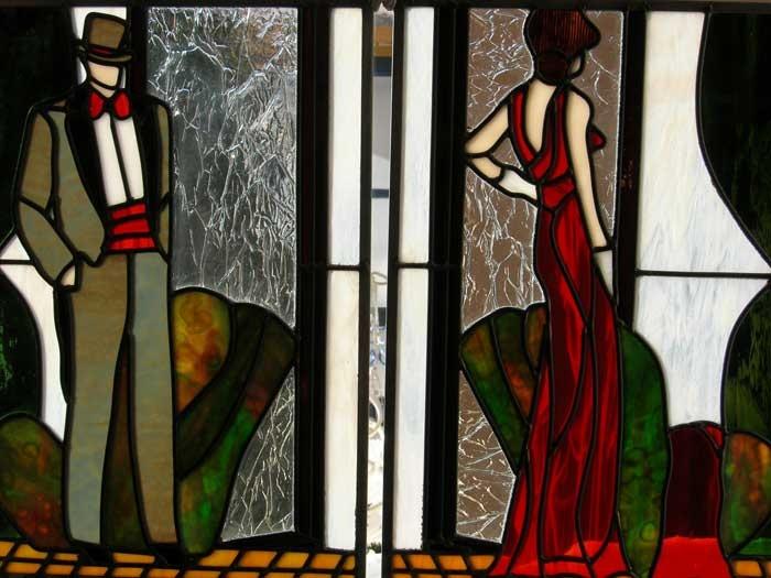 912 best stained glass women art deco men children. Black Bedroom Furniture Sets. Home Design Ideas