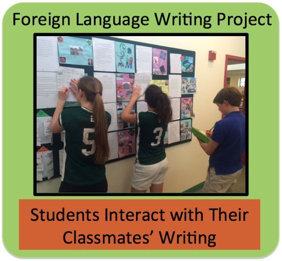 Foreign Language Writing Project (French, Spanish) http://wlclassroom.com