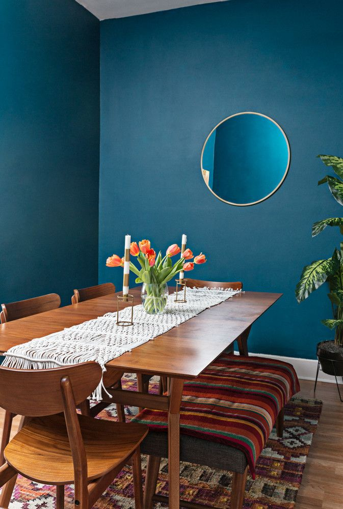 6 Paint Colors That Will Make A Room Look Bigger Dining Room