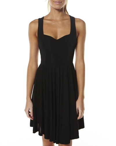 TIGERLILY AYTHYA DRESS - BLACK & LOVE!