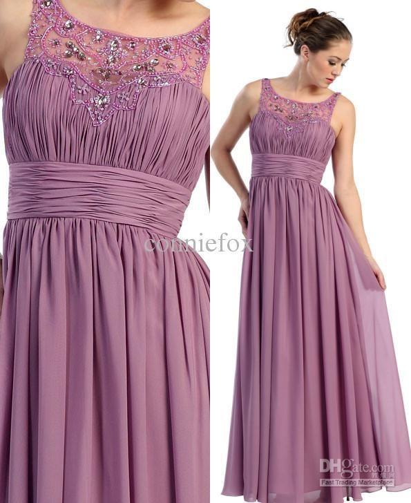 Jr bridesmaid dresses long chiffon