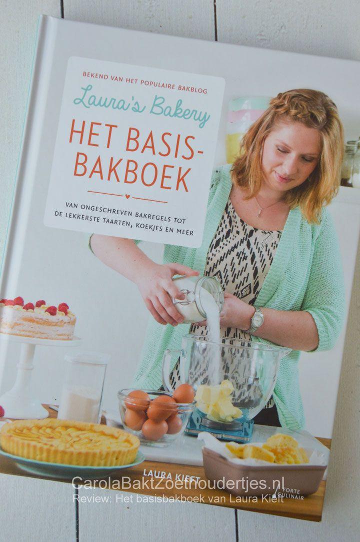 Eindelijk het basisbakboek van Laura's bakery voor de beginnende en gevorderde thuisbakker. Vol inspiratie, handige tips, de heerlijkste recepten!