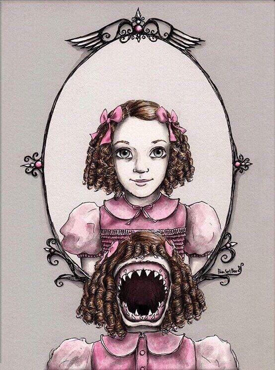 Картинки дом странных детей нарисованные