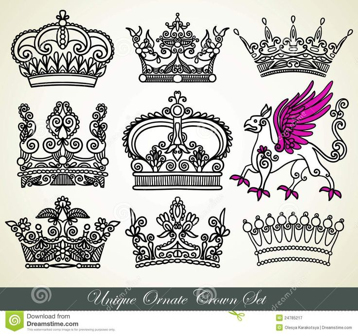 80 best Tattoos images on Pinterest | Crowns, Ideas for ... Queen Crown Design