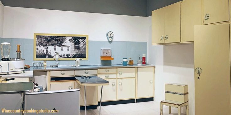 Image result for 50s style kitchen