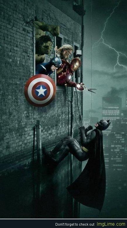 Marvel vs DC.... But I love them both so much!!!