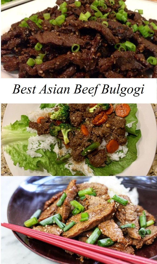 Best Asian Beef Bulgogi Recipe Asian Ground Beef Recipes Healthy Beef Recipes Roast Beef Recipes