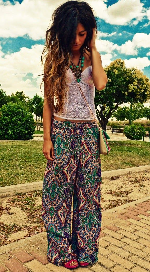 ☮ American Hippie Bohéme ☮ Colorful Boho ☮