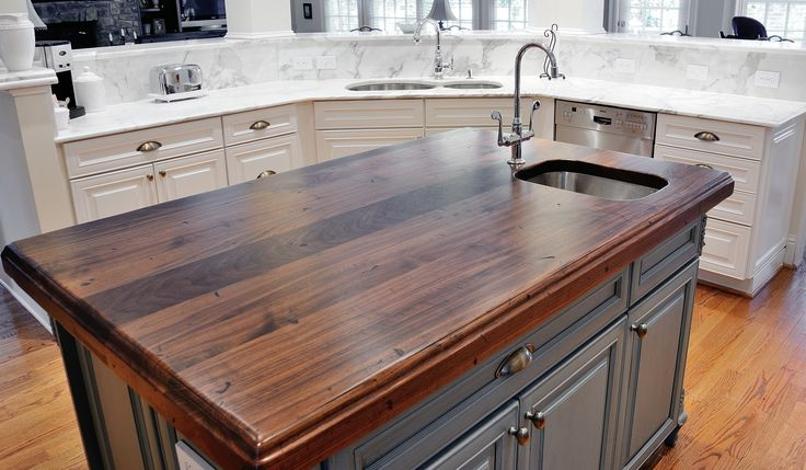 Black Walnut Heritage Wood by @Artisan Stone Collection Countertops ...