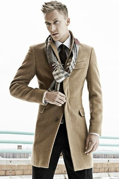 All the things I love.....a Burberry scarf and a camel color trench coat!