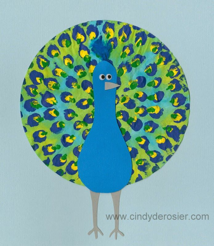 The Cursive Project Peacock Crafts For Kids Pinterest Peacock