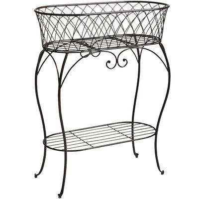 Black Oval Plant Stand  Plants, Plant stands and Black