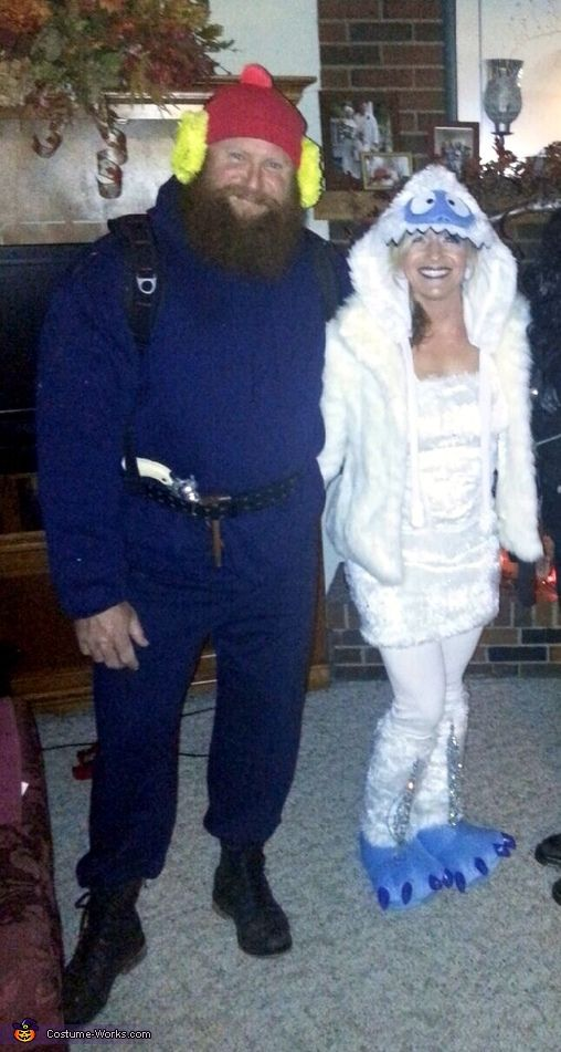 Yukon Cornelius and the Bumble DIY Couples Halloween Costume - 2014 Halloween Costume Contest