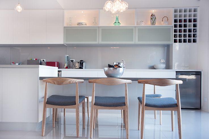 Ermington sleek contemporary kitchen