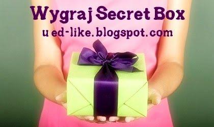 Ed-like, czyli o wszystkim co lubię!: Rozdanie - Secret Box