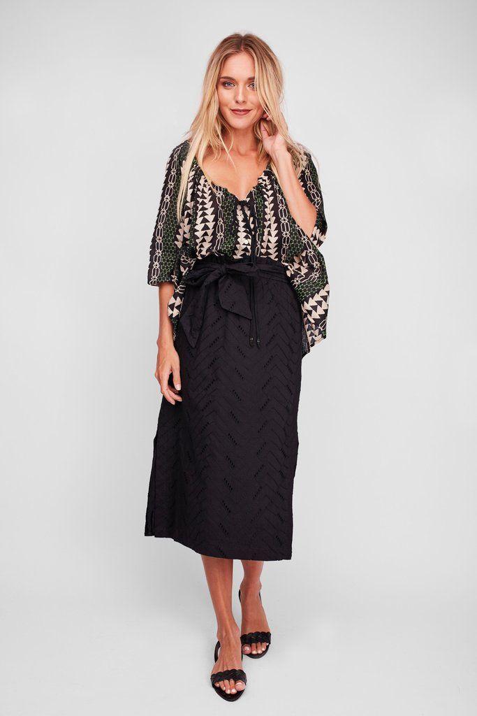 Solito - Aya Midi Skirt