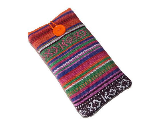 Iphone 6 sleeve / Iphone 6 padded case / Nexus 5 Cover by Driworks