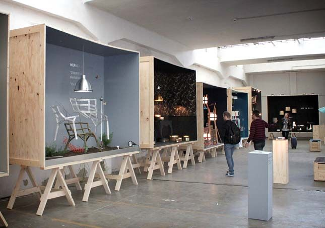 Amazing pop up space. Exceptional use of materials and really plays to the strengths of the projects parameters.