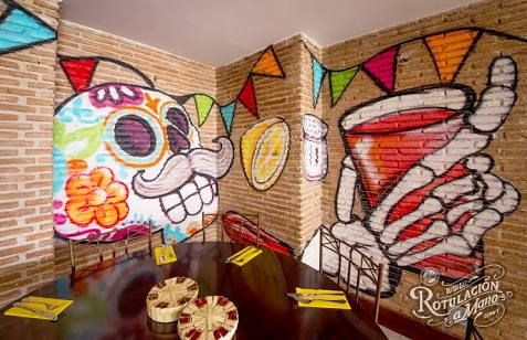 Resultado de imagen para restaurante mexicano decoracion