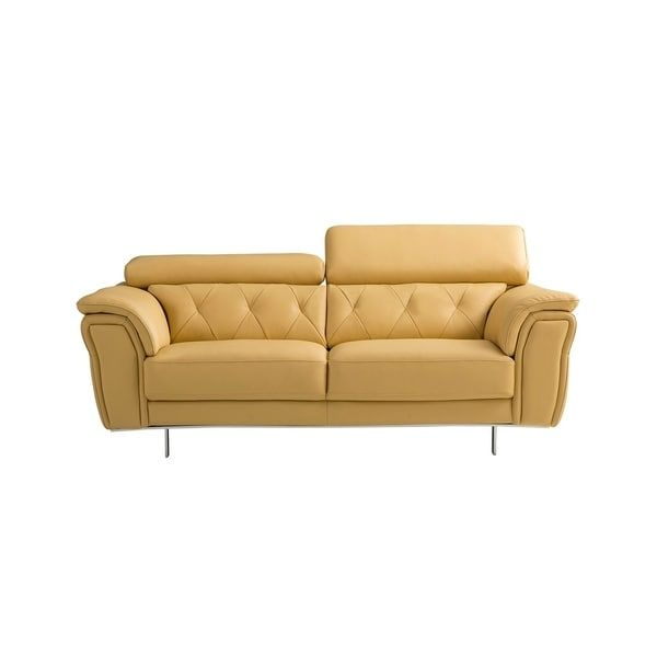 Cushioned Yellow Leather Sofa 3d: Best 25+ Yellow Leather Sofas Ideas On Pinterest