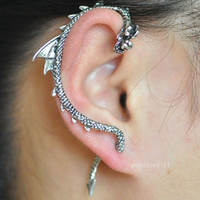 117 best fantasy jewelry images on pinterest jewerly jewelery and jewelry design - Game of thrones dragon ear cuff ...