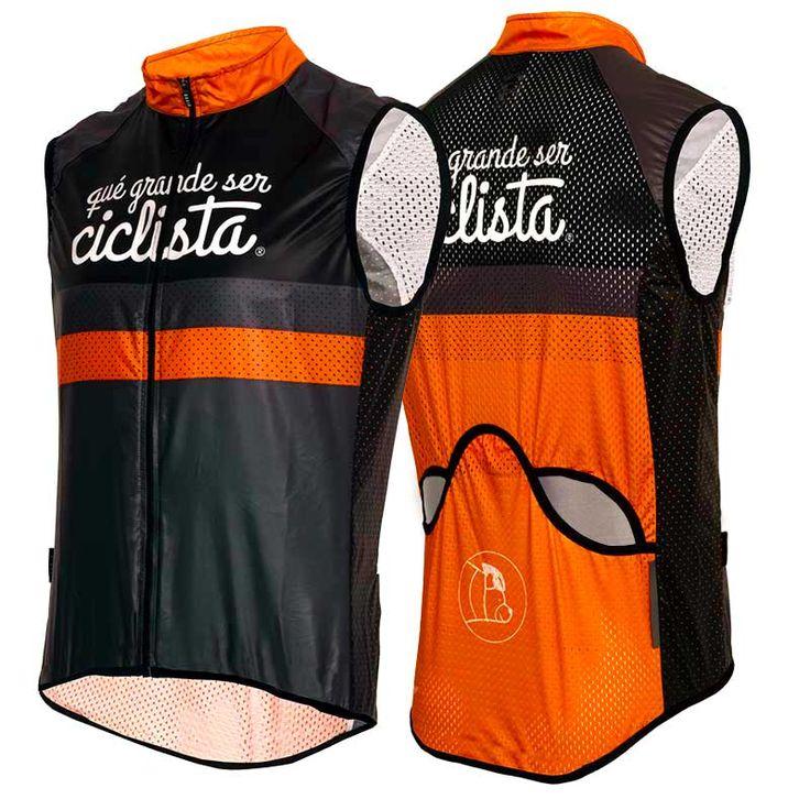 Chaleco paravientos ultraligero. #cycling #gilet #ciclismo #chaleco