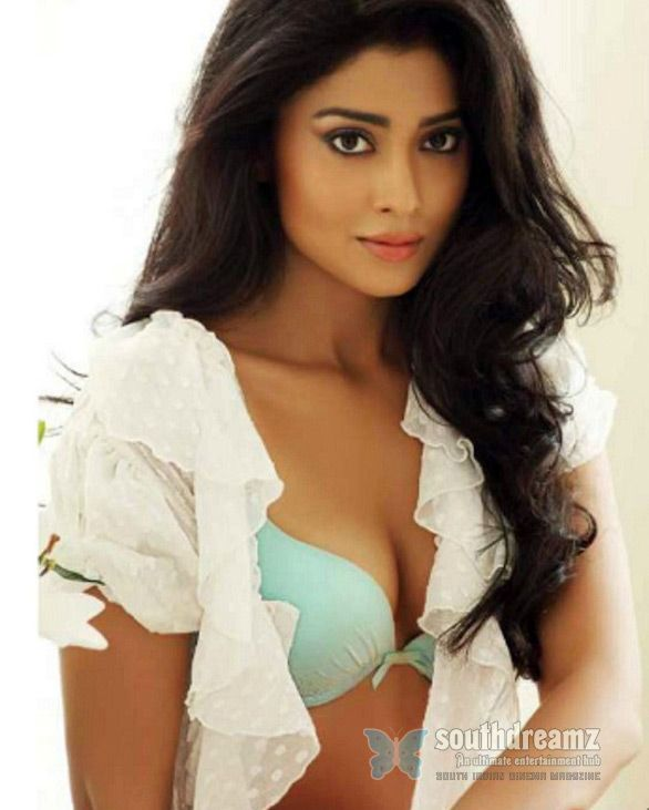 Shriya Saran opens Shirt Buttons again