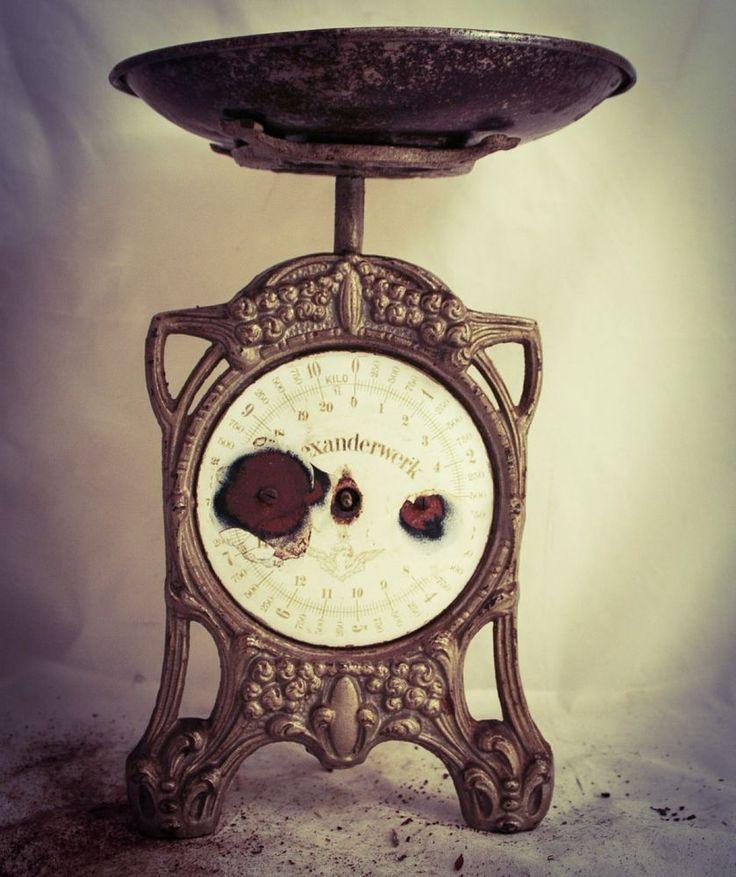 Antique ALEXANDERWERK kitchen scale cast-iron Weighing Balance C1900 #Alexanderwerk