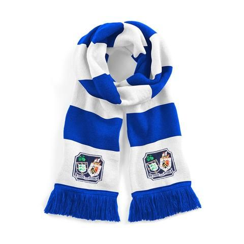 Brighton & Hove Albion Traditional Football Scarf Embroidered Logo