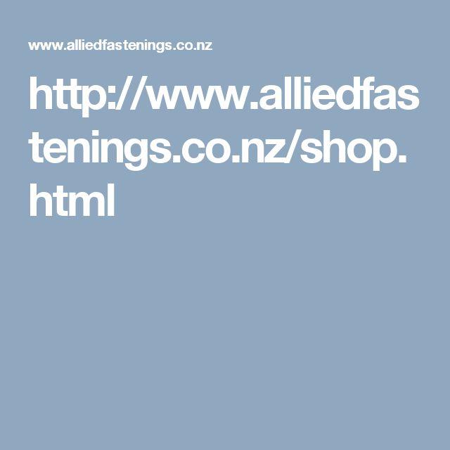 http://www.alliedfastenings.co.nz/shop.html
