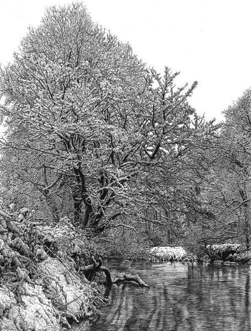 River in winter SALE £95